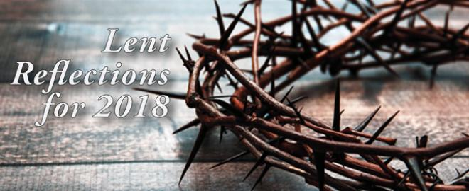 Lent Reflections for 2018