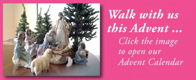 Walk With Us this Advent: VOTF 2015 Advent Calendar