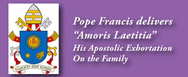 Pope Francis' Apostolic Exhortation on family stresses grace over dogma