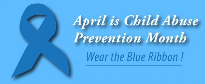 Child Protection Month -- Wear the Blue Ribbon