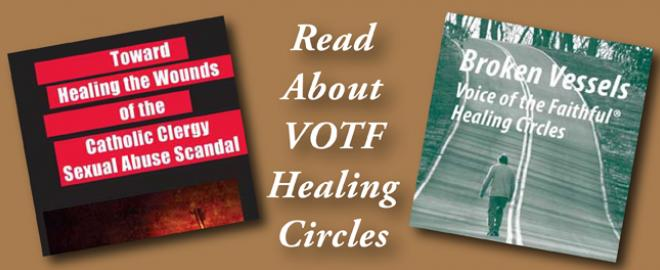 "You can read, download, and print information about our ""Broken Vessel"" Healing Circles"
