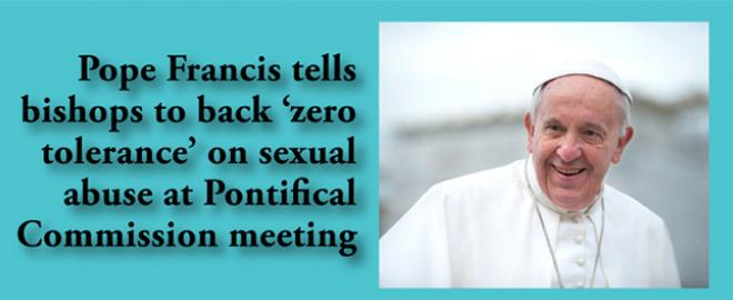 'Zero Tolerance' for clergy sexual abuse
